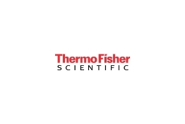 Thermo Scientific - Equipment LED
